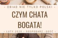 """Przed nami kolejna edycja akcji """"Czym chata bogata – obiad nie tylko polski"""""""